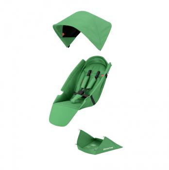 Текстильный комплект для сиденья коляски Greentom Upp Classic F мятный