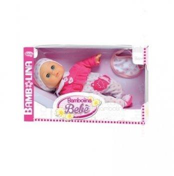 Говорящая кукла Bambolina Малышка Флора, украинский язык, с аксессуарами
