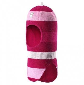 Шапка-шлем для девочки Reima Starrie, вишневая