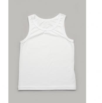 Детская майка для мальчика Модный карапуз Белый 306-00014