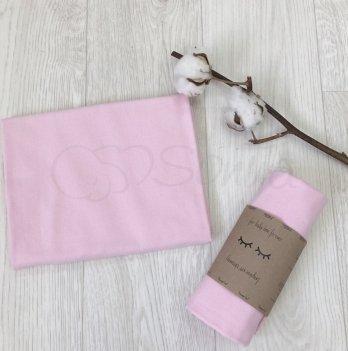 Пеленка фланелевая Маленькая Соня 466509 розовый 80х100 см