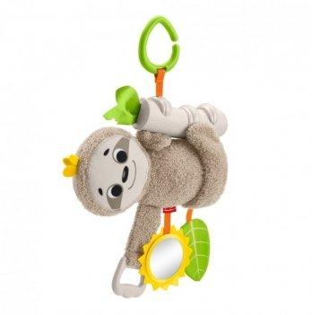 Мягкая игрушка-подвеска Fisher-Price Ленивец FXC31