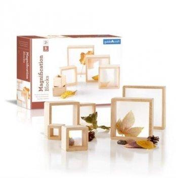 Набор блоков Natural Play Guidecraft G3018 Лупа 10 шт