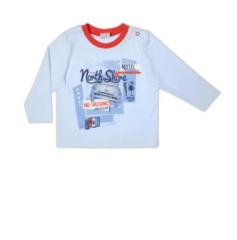 Джемпер Garden baby для мальчика, голубой, 39049-02