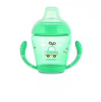 Чашка непроливайка Canpol babies Бирюзовый 56/502 230 мл