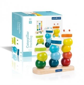 Пирамидка Manipulatives Guidecraft G6731 Гусеницы
