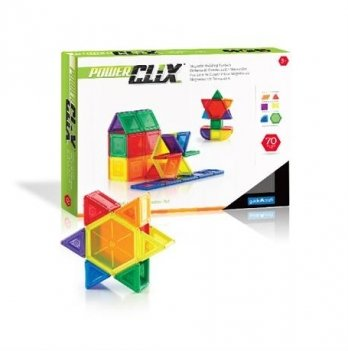 Конструктор PowerClix Solids Guidecraft G9422 70 деталей