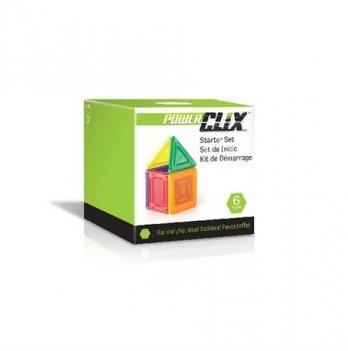 Конструктор PowerClix Solids Guidecraft G9481 Базовый набор 6 деталей