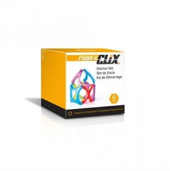 Конструктор PowerClix Organics Guidecraft G9482 Базовый набор 6 деталей
