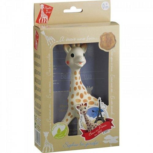 Игрушка-прорезыватель Vulli Жирафа Софи Timeless