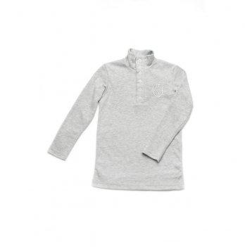 Гольф для мальчика Модный карапуз Светло-серый 03-00591