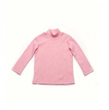 Гольф трикотажный с начесом Модный карапуз Розовый 03-00893