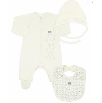 Комплект для новорожденного Smil Кремовый 109972