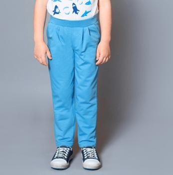 Брюки спортивные со складками для мальчика Модный карапуз
