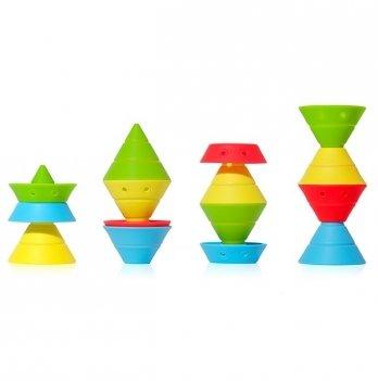 Игровой развивающий набор Moluk, HIX, цвета: красный, голубой, желтый, зеленый