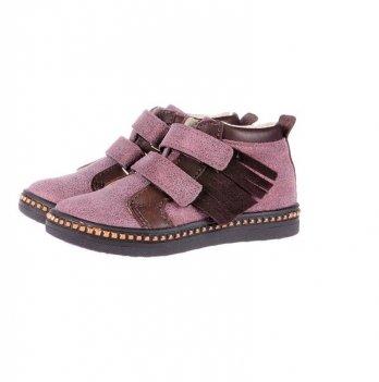 Ботинки демисезонные Mrugala розовые