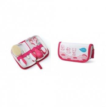 Набор по уходу за ребенком Nuvita 0м+, большой, розовый