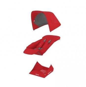Текстиль сиденья для коляски Greentom Upp Reversible D Red