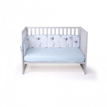 Бортики в детскую кроватку Veres Elephant blue 154.01.1 185х32 см