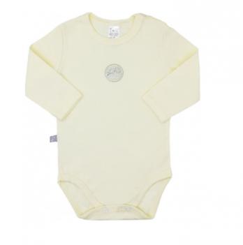 Боди - футболка Smil, с длинным рукавом, кремовый