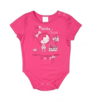 Боди-футболка Garden baby для девочки, малиновый, 19905-03