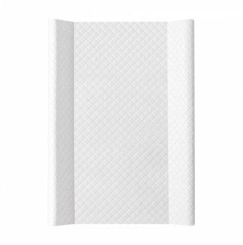 Пеленальный матрас жесткий Caro Ceba Baby W-200-079-101 белый 50х70 см