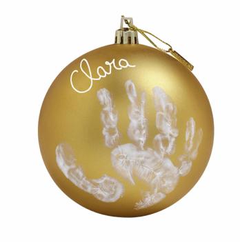 Рождественский шар Baby Art Золотистый 11 см