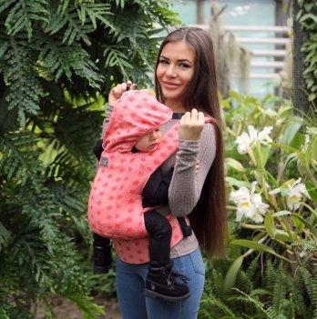 Эрго-рюкзак Love & Carry DLIGHT из шарфовой ткани Вселенная