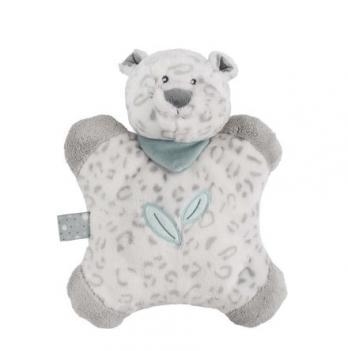 Мягкая игрушка-подушка Nattou, леопард Лея, 24см