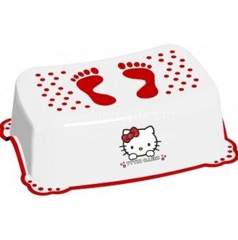 Подставка Maltex Hello Kitty, с нескользящими резинками, белая
