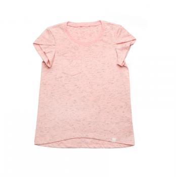 Футболка базовая для девочки Модный карапуз, розовая