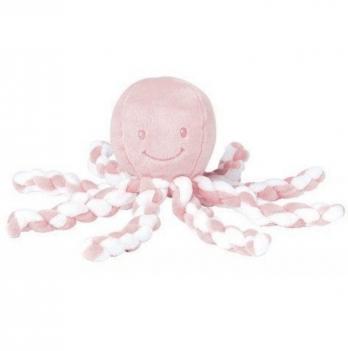Мягкая игрушка Lapiduo Octopus Nattou, цвет розовый