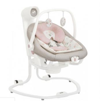 Кресло-качалка 2 в 1 Joie Serina Flowers Forewer, цвет розовый с рисунком