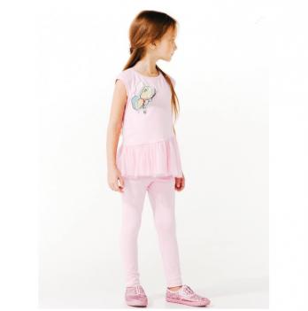Туника для девочек Smil от 7 до 10 лет розовая