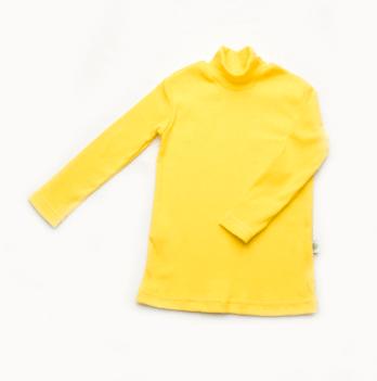 Гольф детский (рубчик) Модный карапуз, желтый