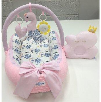Кокон-гнездышко Happy Luna 0149 Babynest Plush Жар-птица