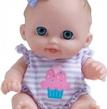 Пупс Биби с бантиком JC Toys, 22 см