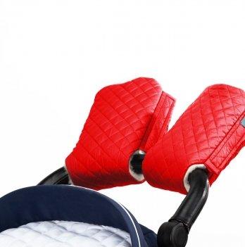 Муфта для рук на коляску Merrygoround Красный