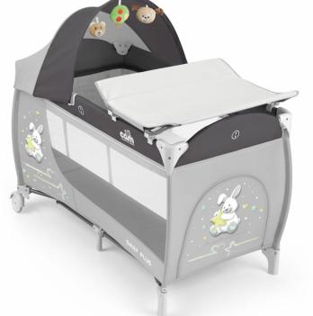 Кровать-манеж Cam Daily Plus, серый