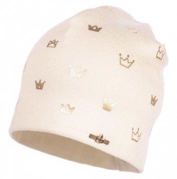 Демисезонная шапка для девочки Jamiks Amber