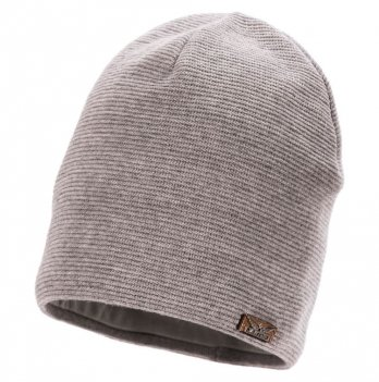 Шерстяная шапка для мальчика Jamiks Torn, серая