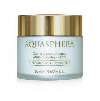 Дневной крем для лица Keenwell Aquaspera, суперувлажняющий мультизащитный