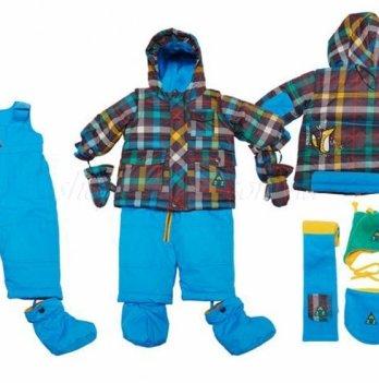 Зимний костюм (куртка и полукомбинезон) Deux par Deux K 512-776