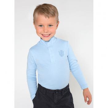 Гольф для мальчика Модный карапуз, голубой