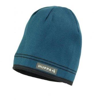 Вязаная шапка для мальчика Huppa Tom Бирюзовый 80120000-80066