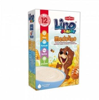 Каша  пшеничная Podravka Lino Medolino Junior безмолочная с медом 200 г