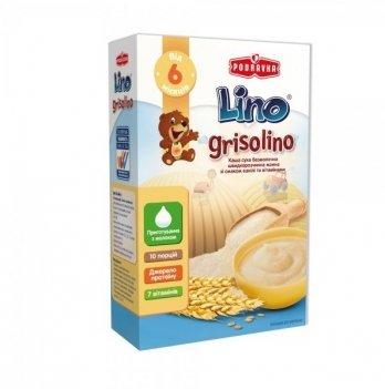 Каша манная Podravka Lino Grisolino безмолочная, с ванилью 200 г
