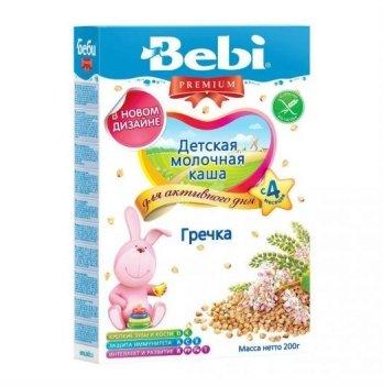 Каша гречневая Kolinska Bebi PREMIUM, молочная 200 г
