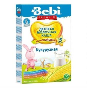 Каша кукурузная Kolinska Bebi PREMIUM, молочная 200 г