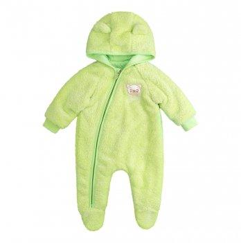 Комбинезон для малышей Bembi Зеленый Махра Унисекс КБ140